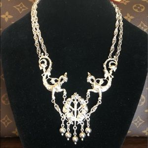 Vintage Guglielmo Cini sterling necklace